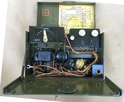 Signal Corps Field Telegraph Set TG-5-B US Army WWII ORDER NO. 9753-PHILA-44