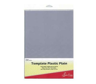 Sew Easy Template Plastic Sheets A4 / Clear x 2 pieces / sewing/patchwork/craft
