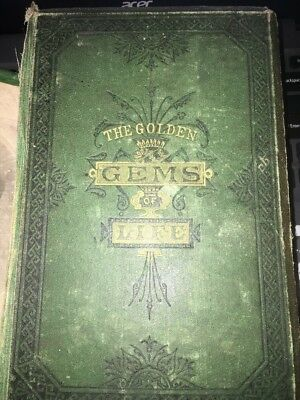 The Golden Gems of Life or Gathered Jewels for Home Circle 1880 Victorian Home
