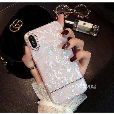 For Apple iPhone 6s/7/8/8+ Plus Bling Glitter Sparkly Soft Gel Phone Cover Case