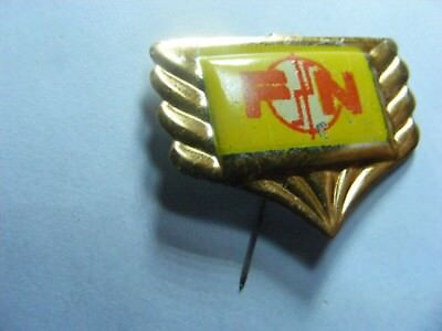 FN motorcycle very old lapel,hat pin badge,prob. 1950s.