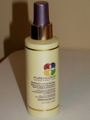 Pureology Perfect 4 Platinum Miracle Filler Treatment 4.9 Oz