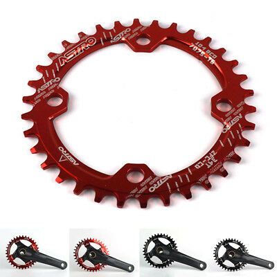 Chainring Speed Circle 9/10/11 Bicycle Single 32t Oval Round Wide Mtb Narrow