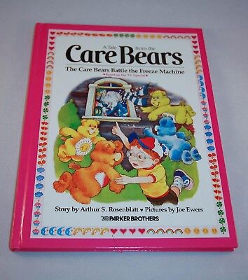 Care Bears Hardcover Book - The Care Bears Battle the Freeze Machine