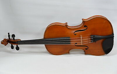 """Viola 16 1/4"""" Made by Luthier John Ferverda 1976 - Excellent Condition"""