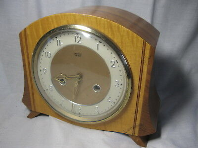 "FAB VINTAGE Mantel Chiming CLOCK from the 40's 50's ""SMITHS ENFIELD"""
