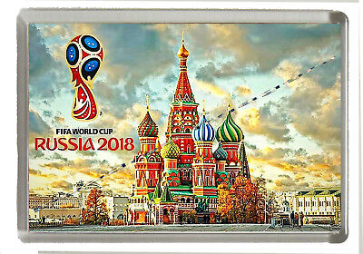 World Cup Russia 2018  - Jumbo Fridge Magnet 90mm x 60mm