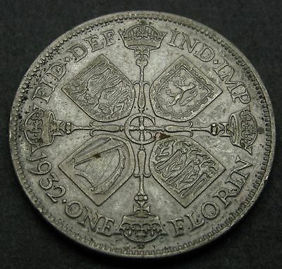 GREAT BRITAIN 1 Florin (Two Shillings) 1932 - Silver - George V. - VF - 2150