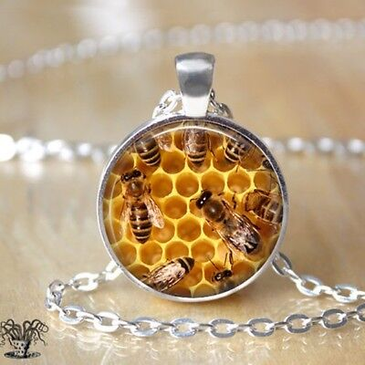 Honey Bee Necklace Save the Bees Jewelry