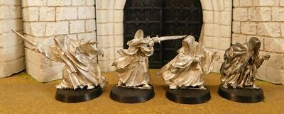 RINGWRAITHS - Lord Of The Rings 4 Metal Figure(s)