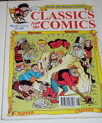 Classics from the comics: (Beano, Dandy & others) No. 17