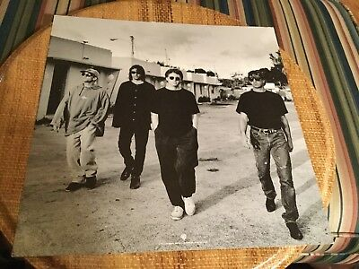 "R.E.M. ""Automatic for the people""   2- sided Promo poster flat"