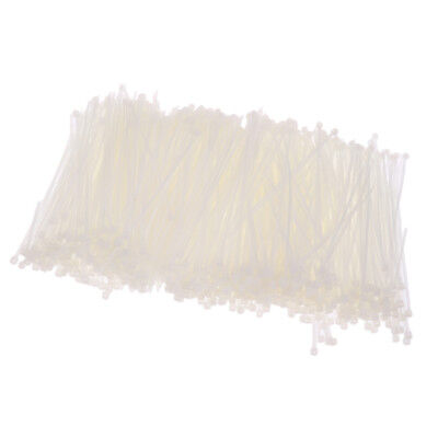 Strong Nylon Cable Wire Zip Ties / Adjustable / Reusable - White- 3*100mm