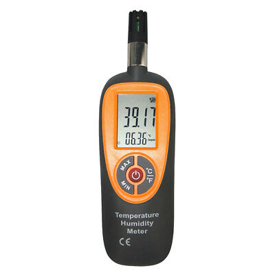Temperature Humidity Monitor Hygrometer Thermometer with Wet Bulb Dew Point