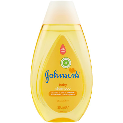 Hair Shampoo Johnson's Baby 250 Ml+ 50 Ml 300 Ml Delicate