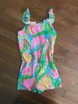 Lilly Pulitzer Girls Size L (8-10) Romper