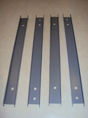 """Front-to-back Rail Kit - 4/box  used   for HON  30"""", 36"""",42"""" wide  lateral files"""