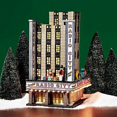 Dept 56 Christmas In The City Village Radio City Music Hall New York House Gift