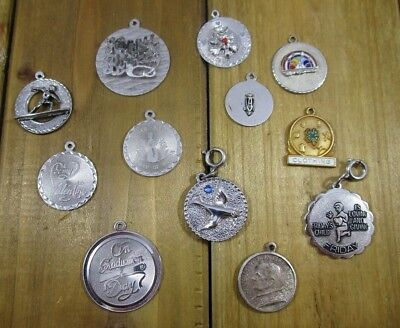 Charms Vintage Sterling Silver | Lot of 12 | 35.8 g