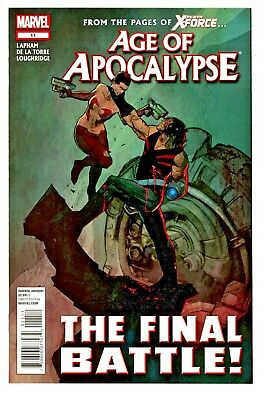 Age Of Apocalypse  #11    * First Print *         The Final Battle    Nm