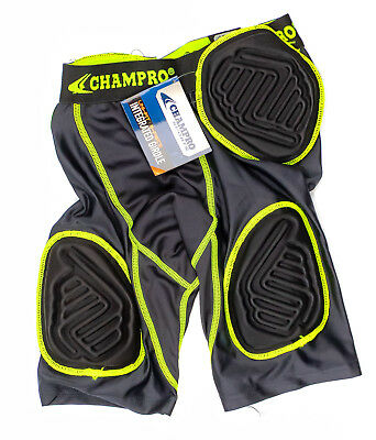 Champro Sports Youth Bull Rush Uni-Fit 5-Pad Football Girdle Size(US) M, Fit ...