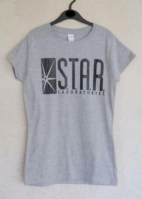 "Star Laboratories T-Shirt - The Flash - NWOT - To Fit 30"" Chest approx 11 years"