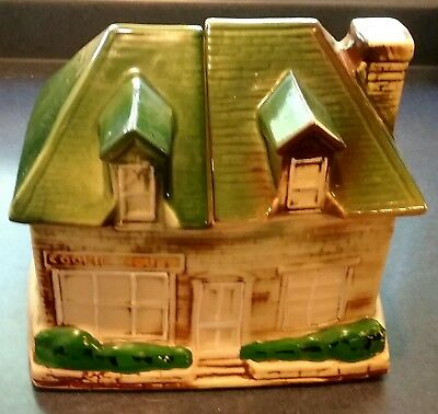 "RETRO C.1960'S McCOY POTTERY ""COOKIE HOUSE"" COOKIE JAR, RARE"