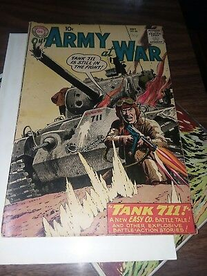 Our Army at War #86 1959 GD/VG 3.0