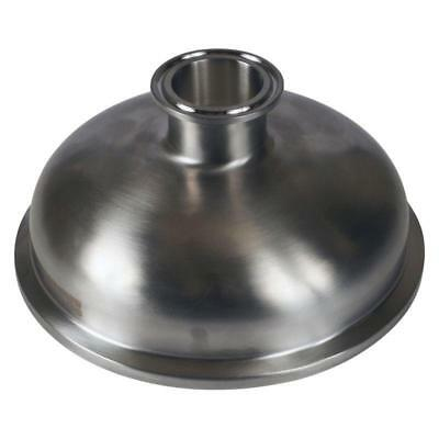 Bowl Reducer | Tri Clamp/Clover 6 inch x 1.5 (1 1/2) - Sanitary SS304 (3 Pack)