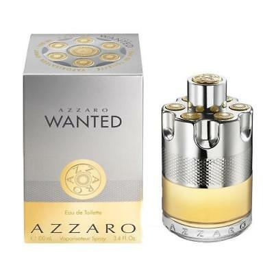 Azzaro Wanted Spray 3.4 oz/100 ml EDT Cologne for Men New in Sealed Box