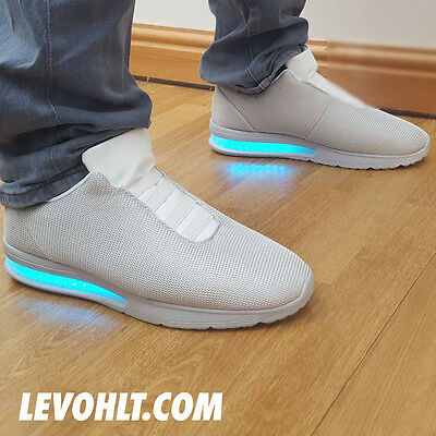 LED Sneaker by LEVOHLT - Back To The Future Air Mag Max Style TRON SCI FI ALIEN