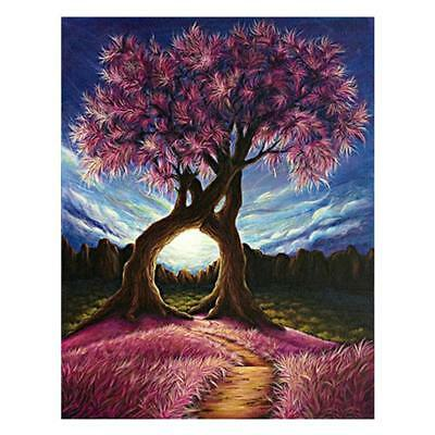 "Diamond Painting - Diamant Malerei - Stickerei - ""Zwillings-Baum"" (839/1)"