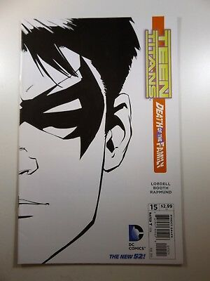 Teen Titans #15 New 52 Death of The Family Variant Cover!! Beautiful NM-!!
