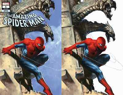AMAZING SPIDERMAN 1 vol 5 2018 DELL OTTO COMICXPOSURE 2 PACK VIRGIN VARIANT SET