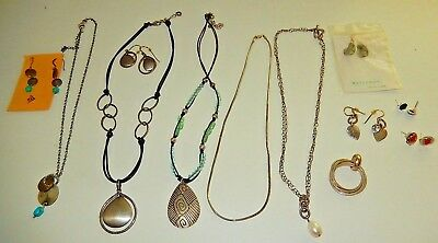 SILPADA Sterling Silver jewelry LOT 12 pieces: sets, earrings, necklaces