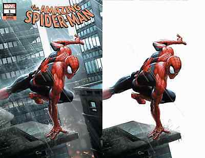 AMAZING SPIDERMAN 1 vol 5 2018 CRAIN COMICXPOSURE 2 PACK VIRGIN VARIANT SET NM
