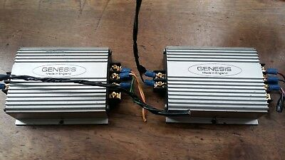 Genesis Passive Crossover Pair - No model number or X-over frequency