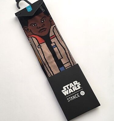 Star Wars Stance Socks The Resistance 2 Kids Size Large 2-5.5 Youth Poe And Finn