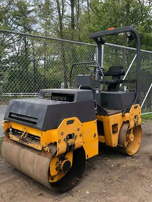Bomag Bw120Ad-3 Compactor Vibratory Tandem Roller Smooth Drum Water Sprayer