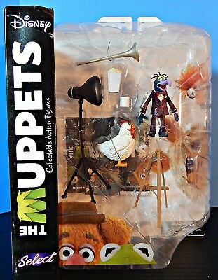 Muppet Figures Series 1 GONZO AND CAMILLA the Chicken by Diamond Select MOC