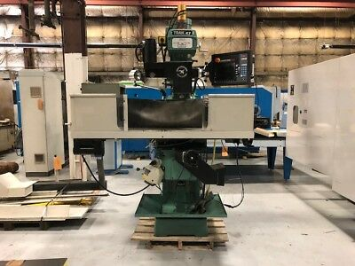 2013 Southwest Industries CNC Trak K3SX-3 Knee Mill Proto Trak SMX Control