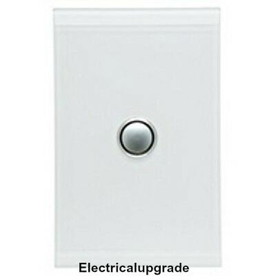 Our Store Offer  1 Gang Led Push button 4061PBL  Package of 10 In Pure White