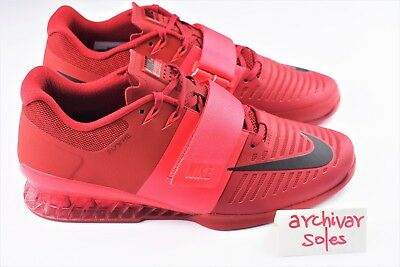 pretty nice 2d5e5 403f2 ... where to buy nike romaleos 3 mens size 10 weightlifting training shoes  red 852933 601 7a628