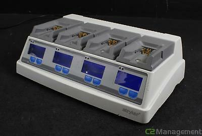 Stryker System 6 Battery Charger 6110-120 w/ 4x 6110-625 Modules