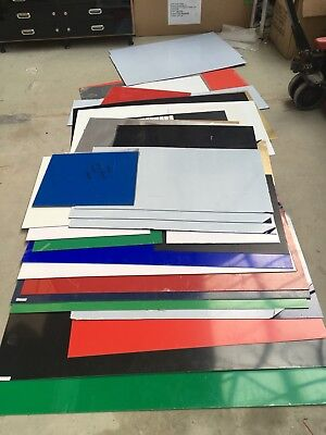 Joblot Of Acrylic Perspex Sheets From A Sign Making Shop