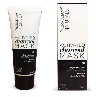 Charcoal Mask Charcoal Face Masks Activated Black Face Mask Charcoal Peel 60ml