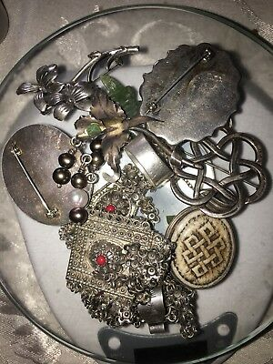 250 Grams Sterling Silver .925 - Scrap and Wearable Lot