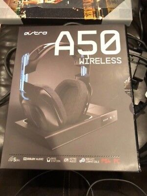 Astro A50  Edition Black/Blue Headband Headsets for PS4/PC