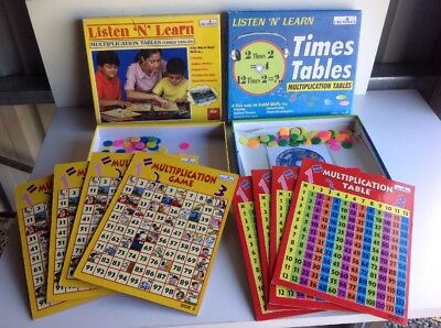 Creatives Listen N Learn MULTIPLICATION MATHS LEARNING TIMES TABLES CD