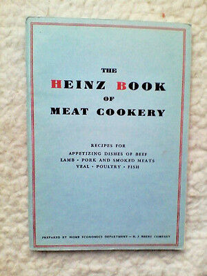Heinz Book of Meat Cookery Advertising Recipe Booklet circa 1932 (223)